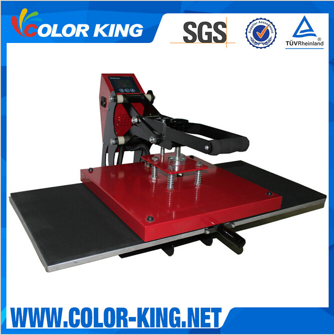2016 Colorking New Arrival Double Working Tables Slide Combo Lanyard Heat Press Machine